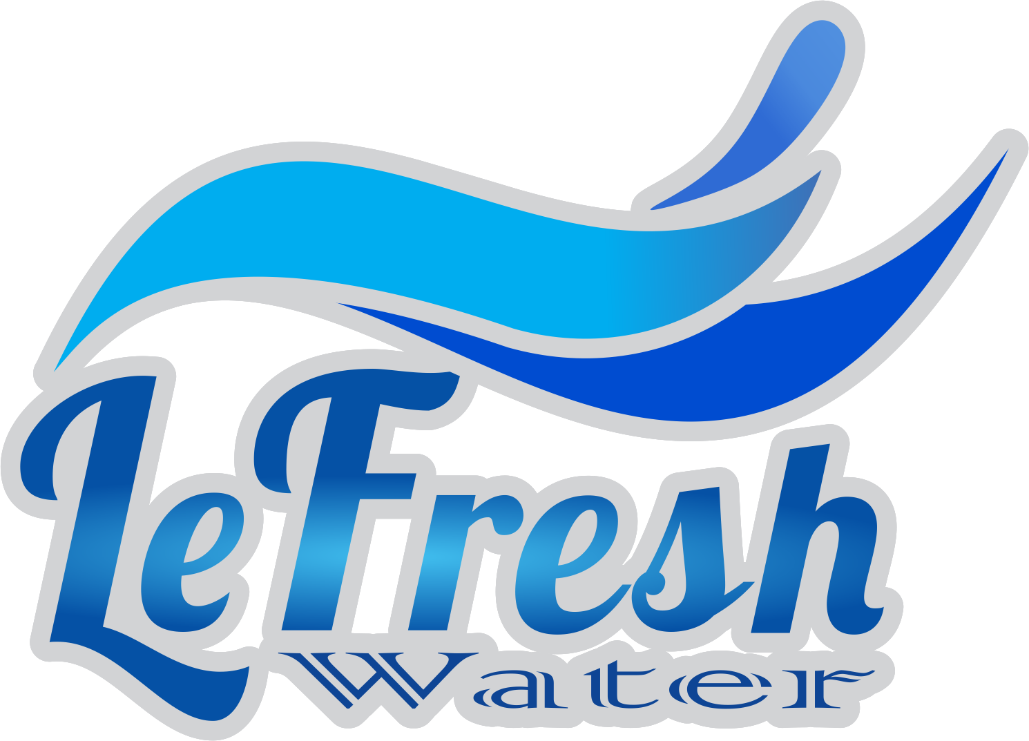 Lefresh Water Logo